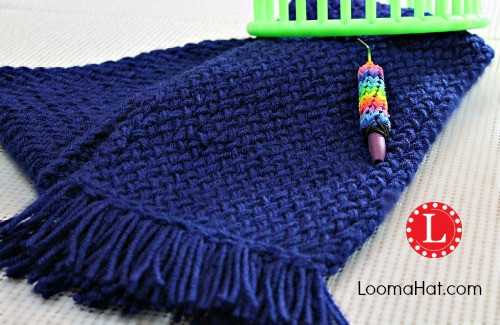 Loom Knit Scarf Any Loom For Beginners LoomaHat