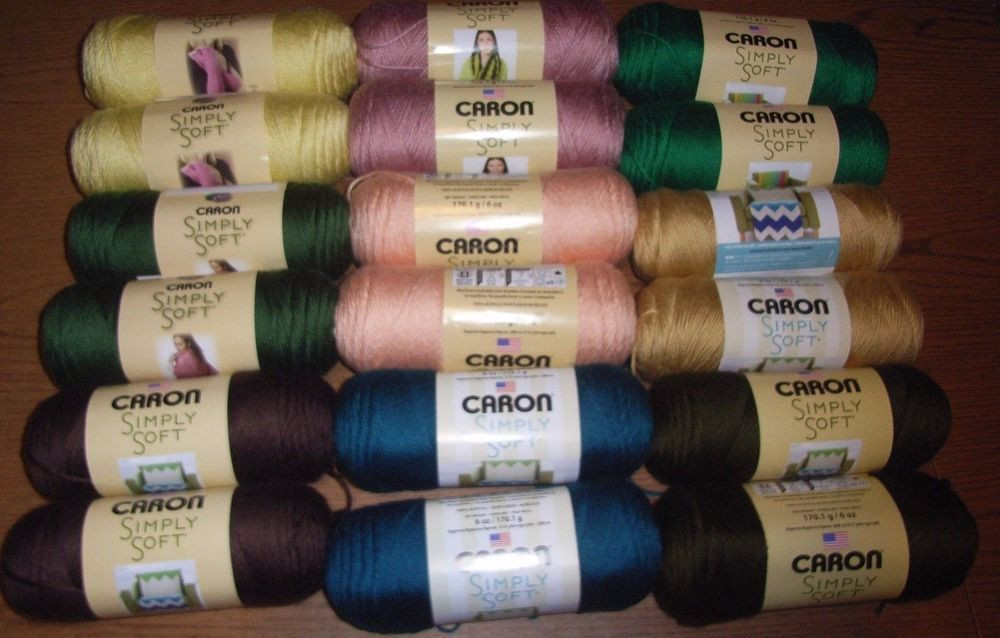 Fresh Lot Of 2 Skeins Caron Simply soft solids Yarn 6 Oz Each Simply soft Yarn Colors Of Contemporary 41 Pictures Simply soft Yarn Colors