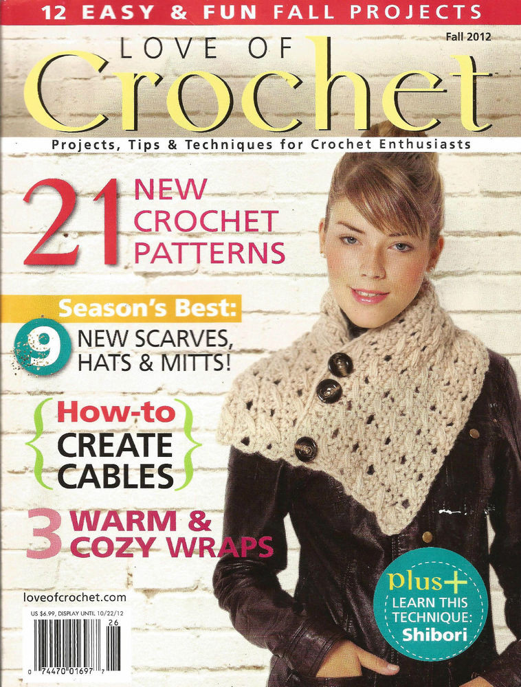 Fresh Love Of Crochet Magazine Fall 2012 21 Excellent Quick and Easy Crochet Magazine Of Amazing 40 Models Quick and Easy Crochet Magazine