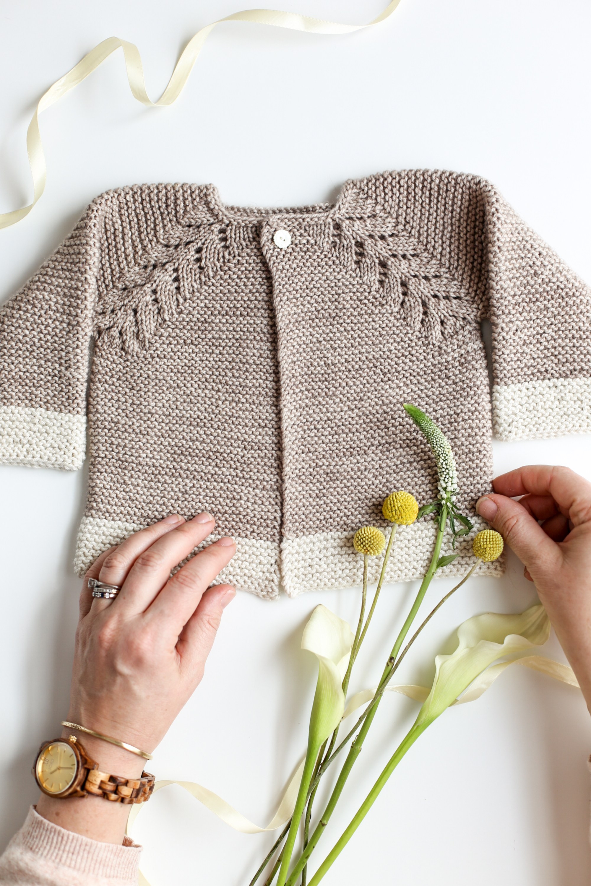 Fresh Lovely Knit top Down Cardigan Baby Sweater Flax & Twine Newborn Baby Sweater Of Gorgeous 41 Images Newborn Baby Sweater