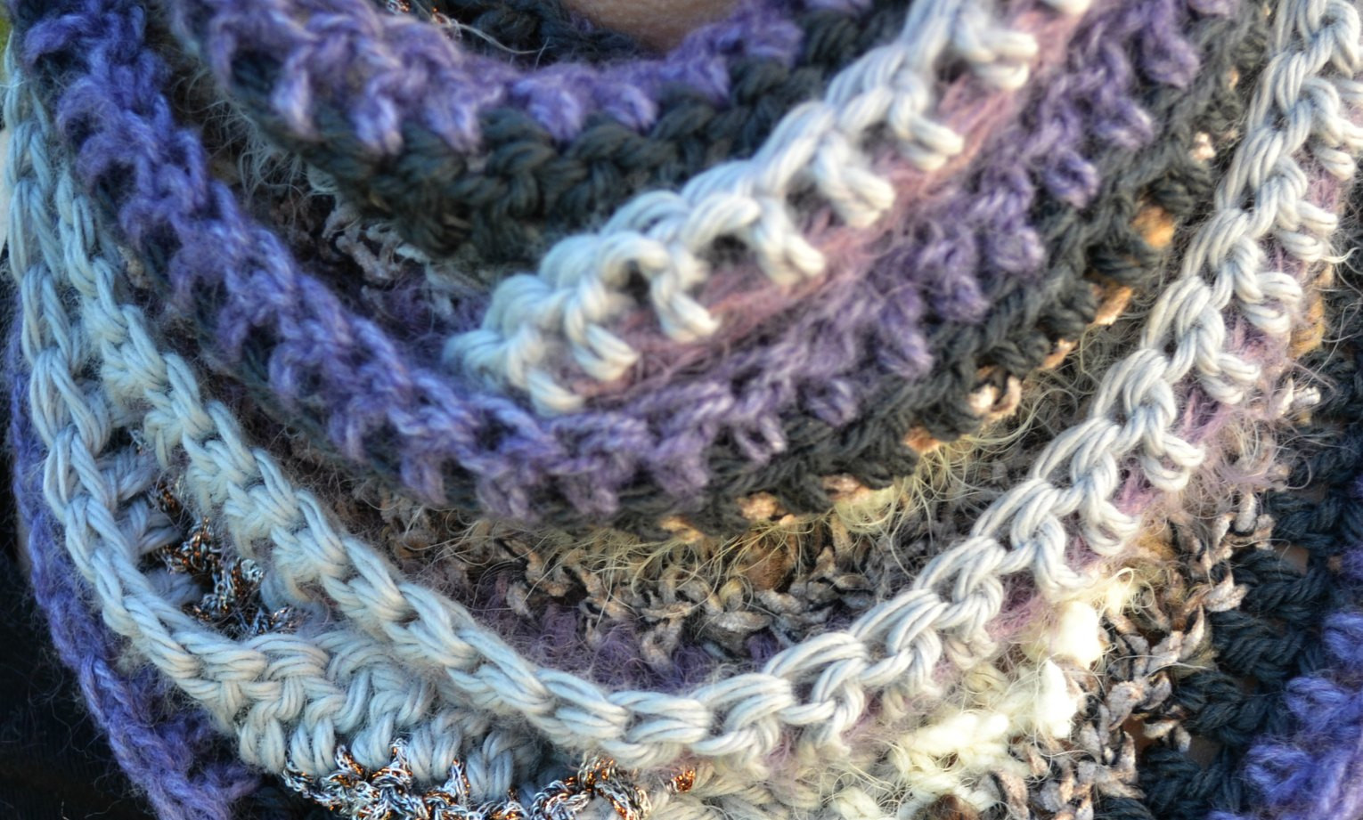 Fresh Many Textured Infinity Scarf – the Green Dragonfly Infinity Cowl Crochet Pattern Of Awesome 49 Pics Infinity Cowl Crochet Pattern