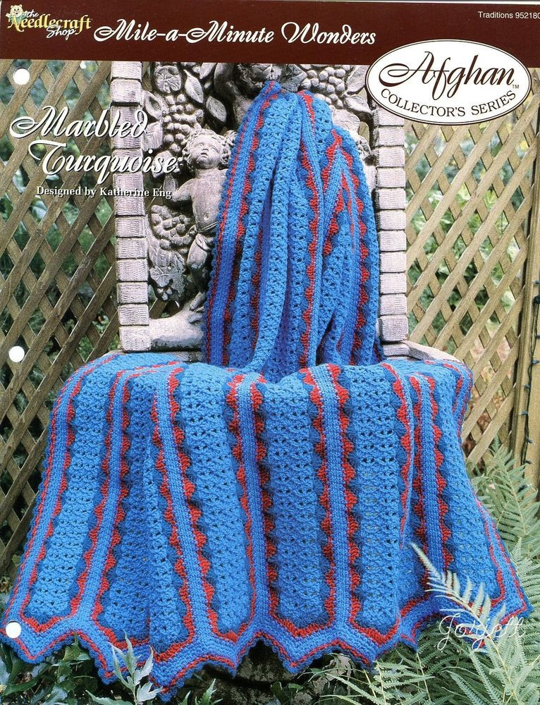 Fresh Marbled Turquoise Afghan Mile A Minute Wonders Crochet Mile A Minute Crochet Afghan Patterns Of Amazing 42 Ideas Mile A Minute Crochet Afghan Patterns