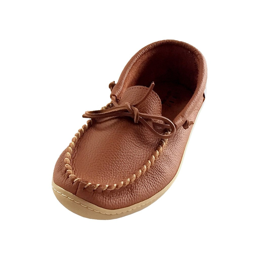 Fresh Men S Rubber sole Brown Genuine Leather Moccasin Shoes Leather sole Slippers Of Fresh 46 Models Leather sole Slippers