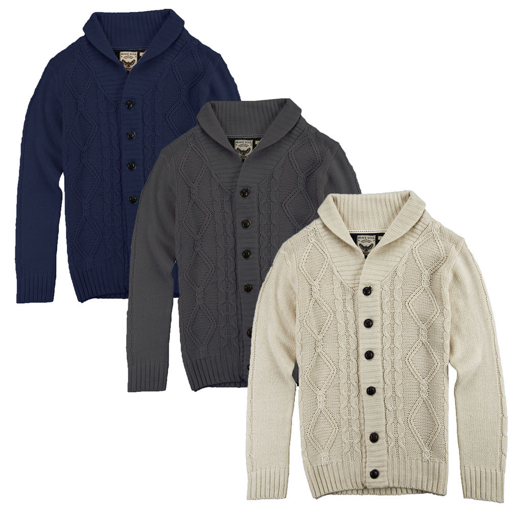 Fresh Mens Cardigan Brave soul New Chunky Cable Knit Winter Mens Cable Cardigan Of Top 48 Pics Mens Cable Cardigan