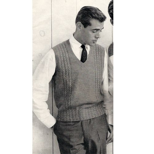 Fresh Mens Sweater Vest Knitting Pattern This is A Pullover Knitted Vest Of Great 48 Pics Knitted Vest