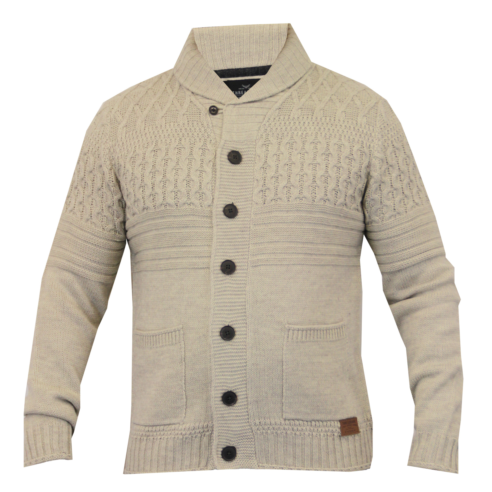 Fresh Mens Wool Mix Cardigan Threadbare Cable Knitted Chunky Mens Cable Cardigan Of Top 48 Pics Mens Cable Cardigan