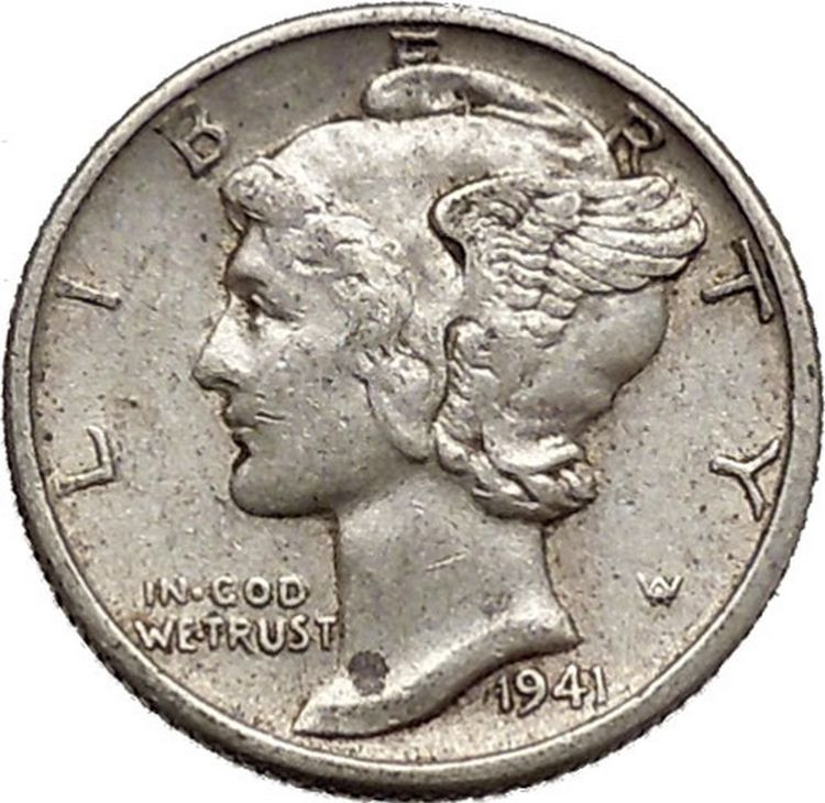 Fresh Mercury Winged Liberty Head 1941 Dime United States Silver Lady Liberty Dime Of Adorable 45 Pics Lady Liberty Dime