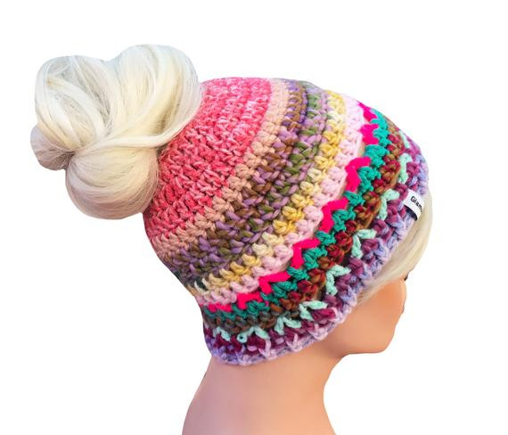 Fresh Messy Bun Beanie Bun Beanie Bun Hole Beanie One Of A Kind Will Beanie with Bun Hole Of Amazing 46 Photos Beanie with Bun Hole