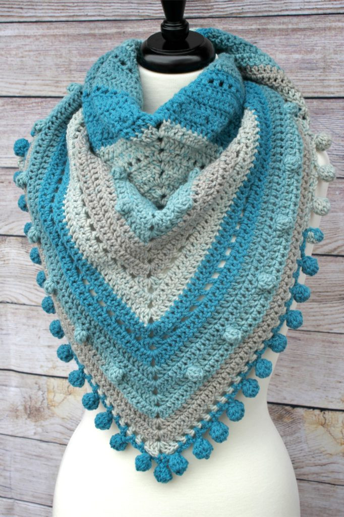 Fresh Misty Morning Triangle Scarf Shawlette Crochet Pattern Caron Big Cakes Crochet Patterns Of Marvelous 50 Pics Caron Big Cakes Crochet Patterns