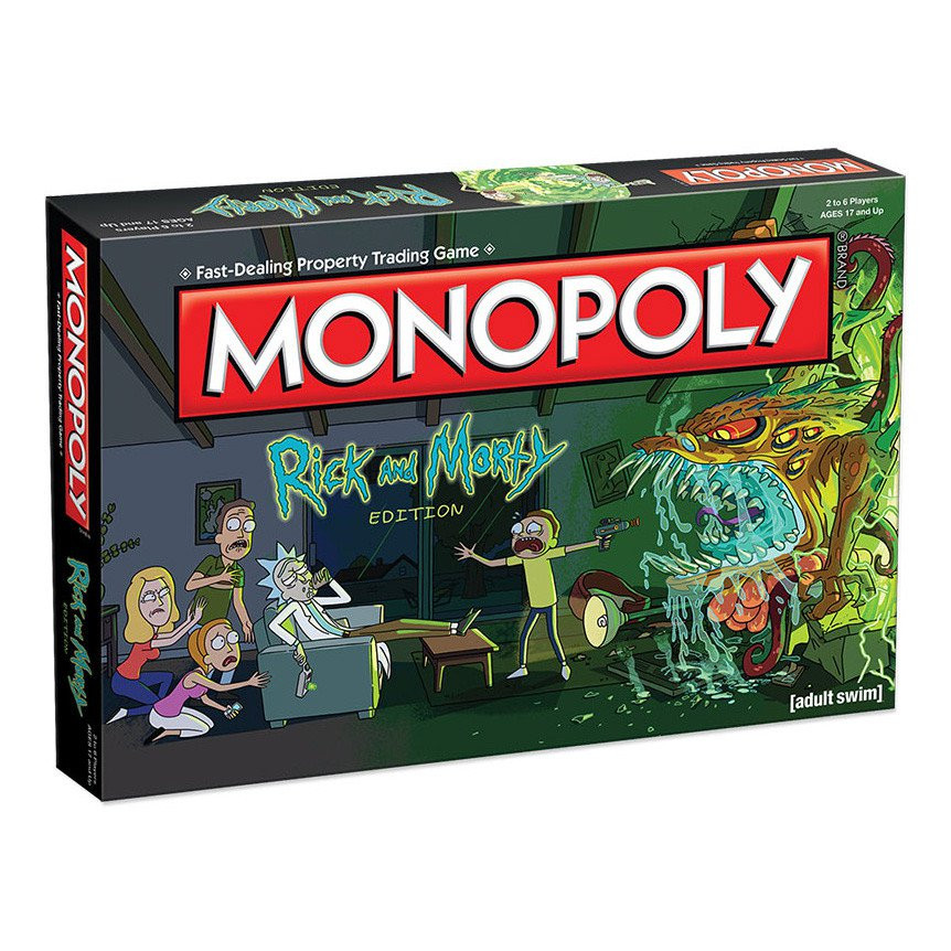 Fresh Monopoly Rick & Morty Edition Board Game Cool Monopoly Games Of Charming 45 Images Cool Monopoly Games