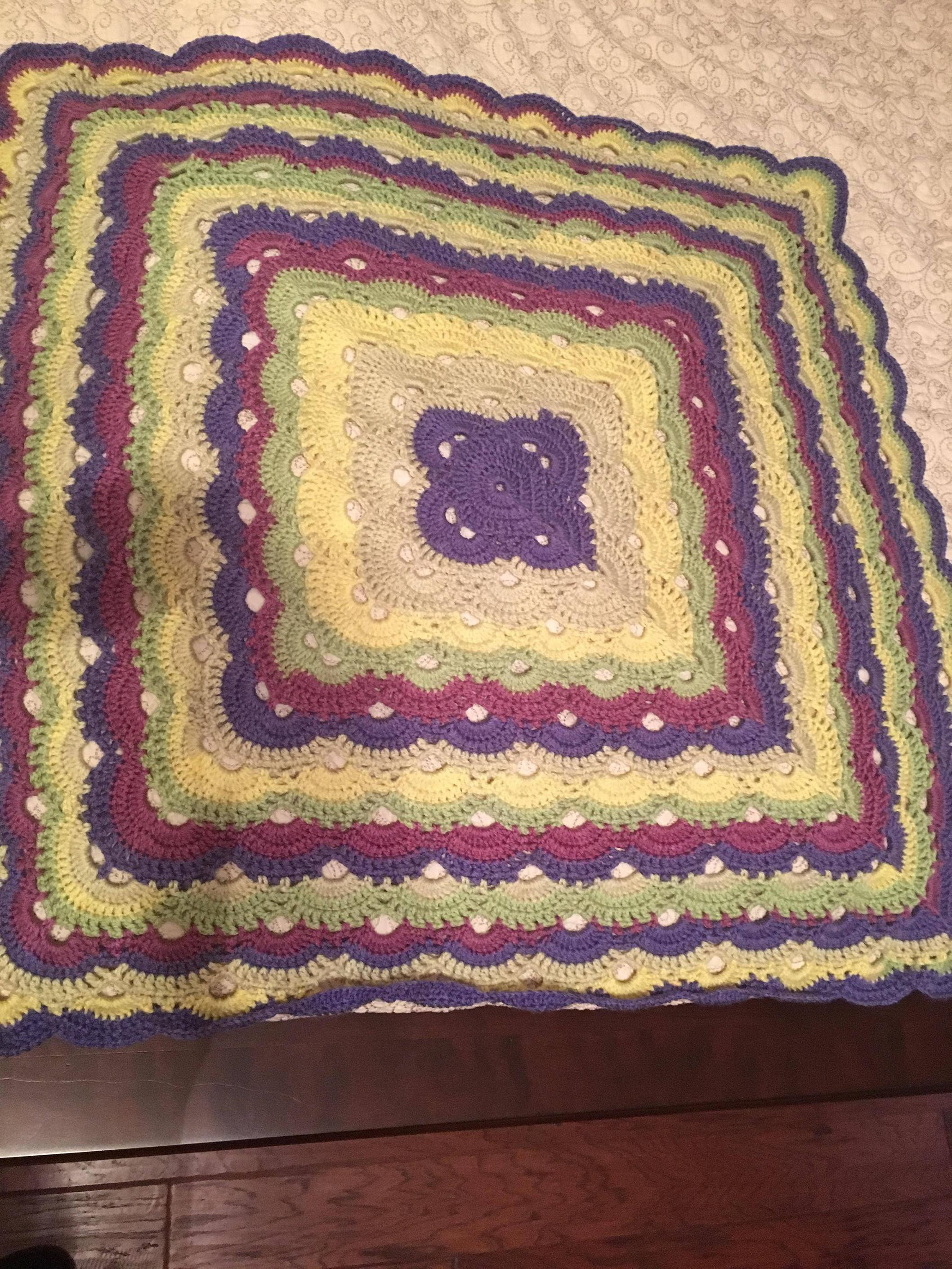 Fresh My First Project with Caron Cakes Virus Blanket Looking Caron Cakes Blanket Of Beautiful 47 Models Caron Cakes Blanket