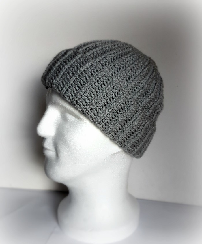 Fresh My Hobby is Crochet Ribbed Men Hat Free Crochet Pattern Mens Hat Pattern Of Amazing 43 Pictures Mens Hat Pattern