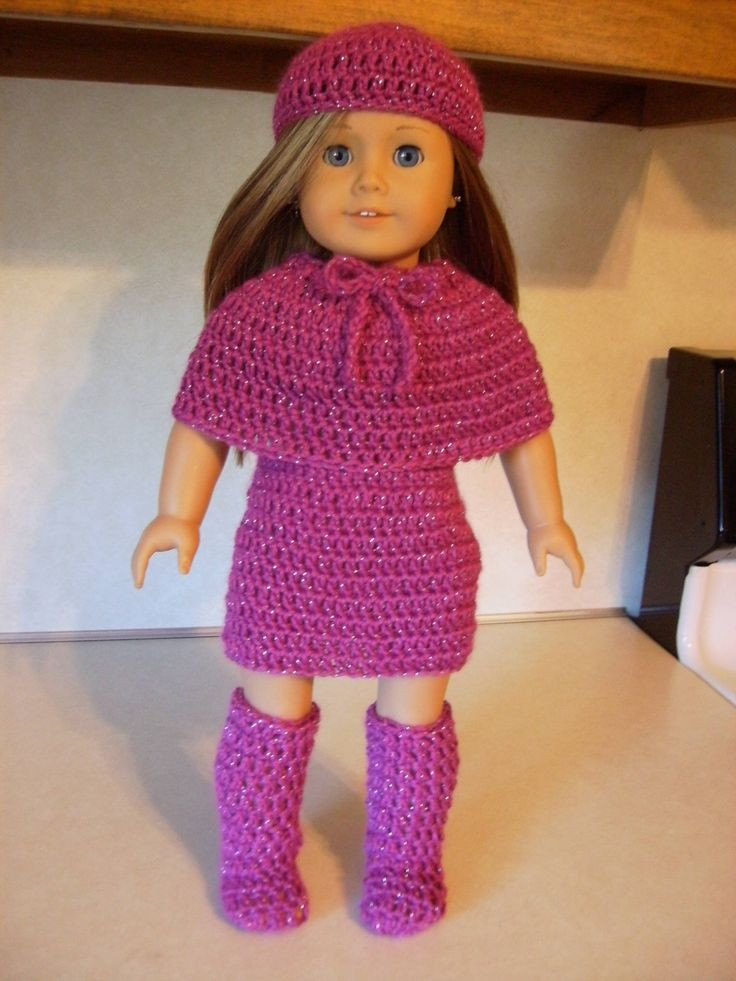 Fresh New Wedding Dress Pattern for American Girl Doll Free Crochet Patterns for American Girl Dolls Clothes Of Adorable 50 Pictures Free Crochet Patterns for American Girl Dolls Clothes