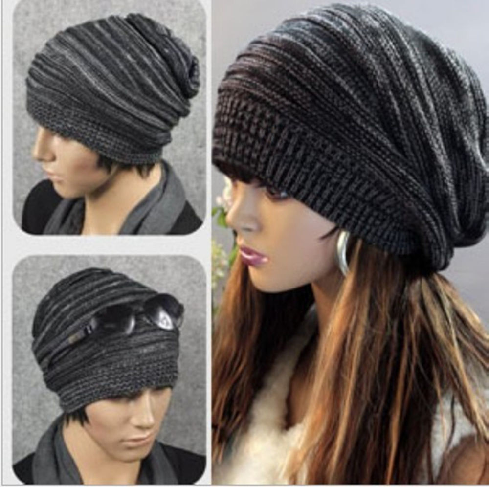 Fresh New Womens Mens Knit Baggy Beanie Hat Winter Warm Mens Knit Caps Of Delightful 41 Ideas Mens Knit Caps