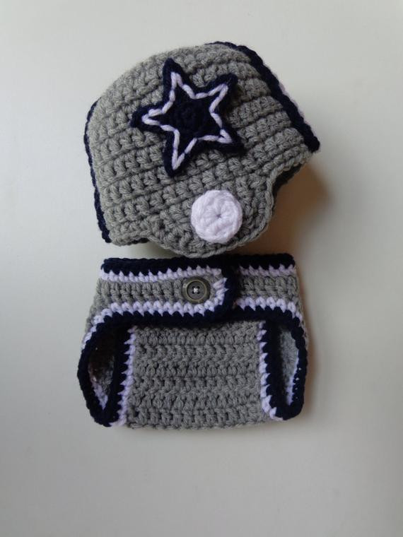 Fresh Newborn Crochet Football Helmet and Diaper by Crochet Football Helmets Of Lovely 48 Pics Crochet Football Helmets