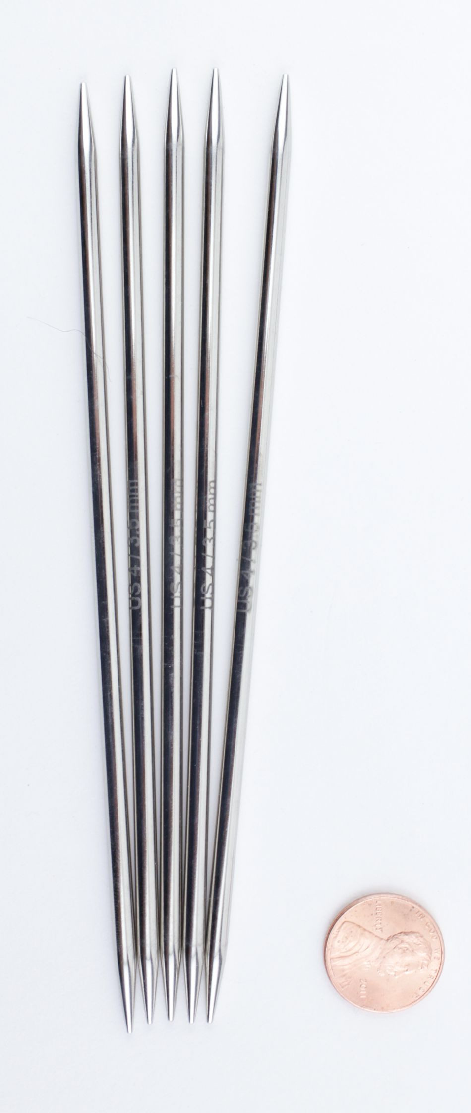 "Fresh Nova Platina 6"" Double Point Size 4 Knitting Needles by Double Pointed Knitting Needles Of Lovely 40 Ideas Double Pointed Knitting Needles"