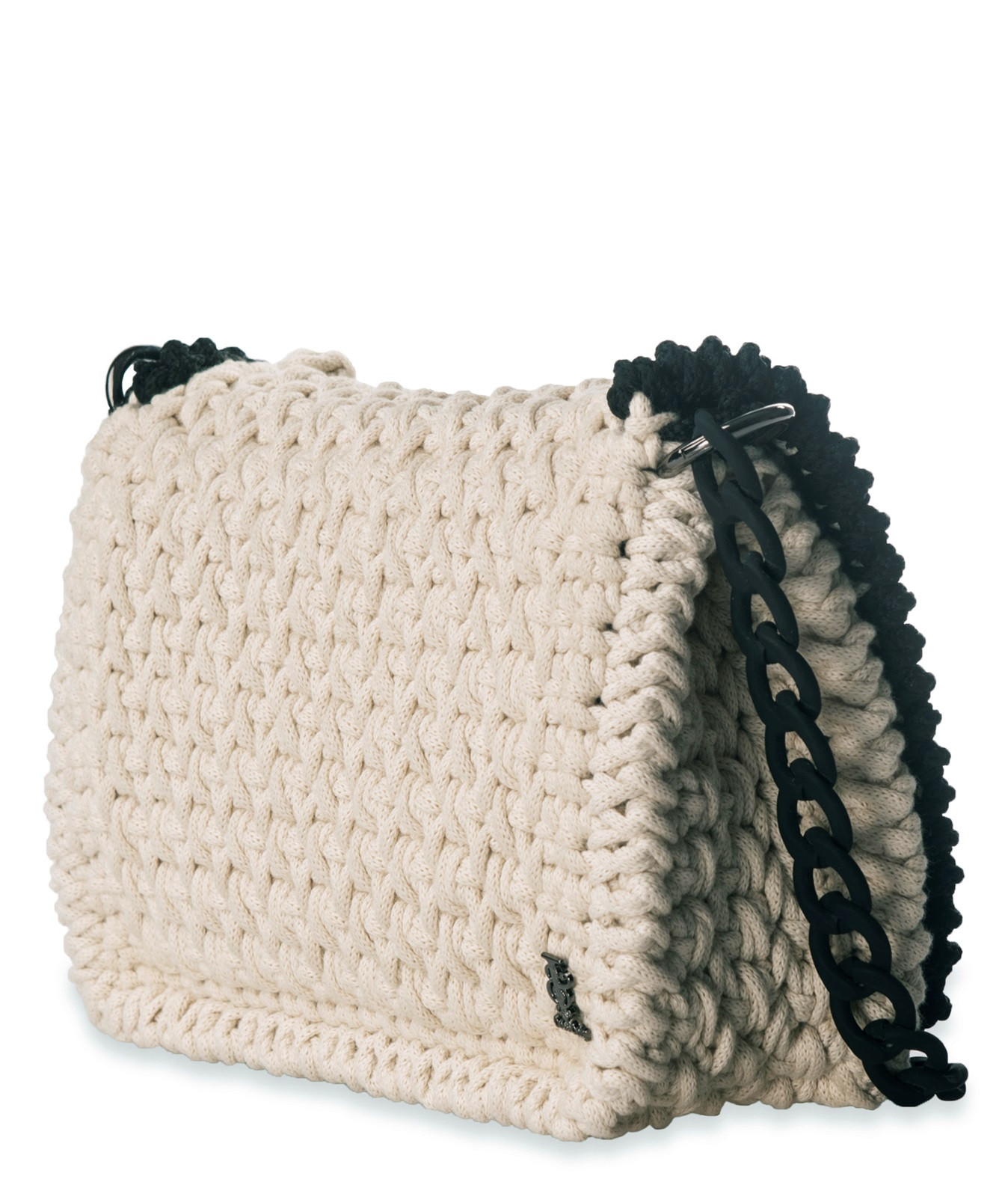Fresh One & Only Ivory and Black Crochet Shoulder Bag Crochet Shoulder Bag Of Fresh 47 Pics Crochet Shoulder Bag