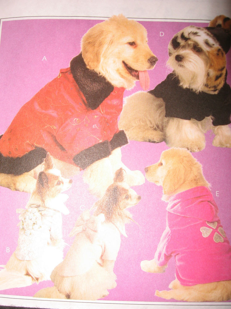 Fresh Oop Mccalls Dog Puppy Hats Coats Clothes Pet Pattern Dog Sewing Patterns Of Amazing 40 Images Dog Sewing Patterns