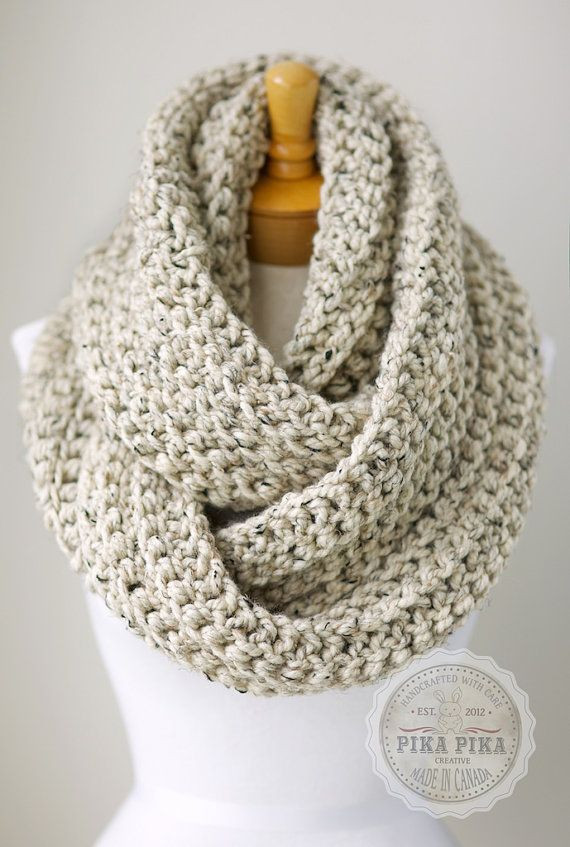 Fresh Oversized Chunky Scarf Chunky Infinity Scarf In Oatmeal Chunky Knit Infinity Scarf Of Awesome 41 Photos Chunky Knit Infinity Scarf