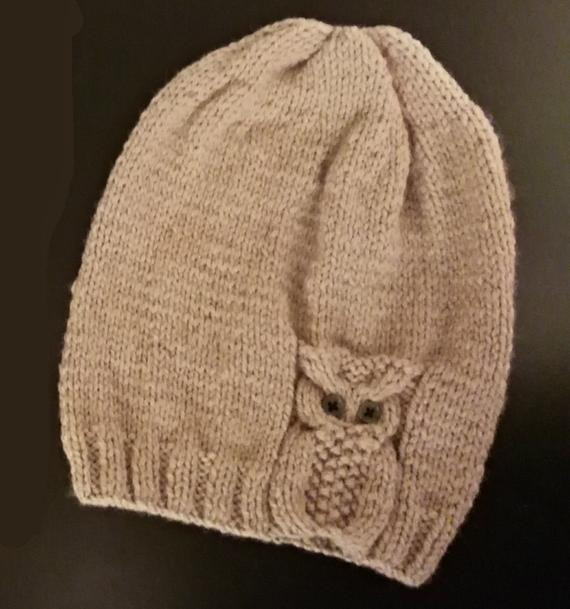 Fresh Owl Hat Knitted On Two Straight Needles Knitting Pattern Knitted Owl Hat Of Amazing 40 Photos Knitted Owl Hat