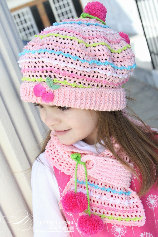 Fresh Parfait Crocheted Hat & Scarf Pattern for Kids and Adult Crochet Hat and Scarf Of Superb 50 Pics Crochet Hat and Scarf