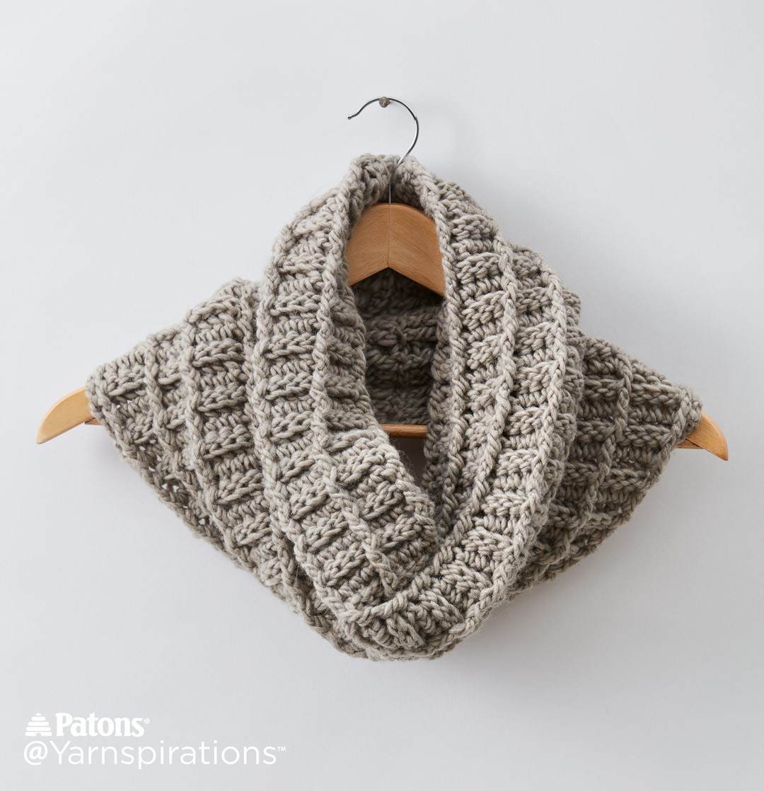 Fresh Patons Wafflin Around Crochet Cowl Crochet Pattern Patons Alpaca Blend Of Attractive 44 Images Patons Alpaca Blend