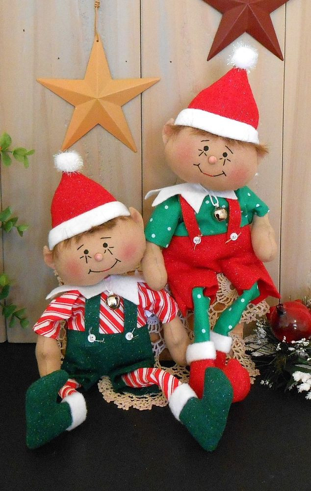 Fresh Pattern Christmas Elf Primitive Raggedy Poseable Doll Christmas Sewing Patterns Of Contemporary 43 Images Christmas Sewing Patterns