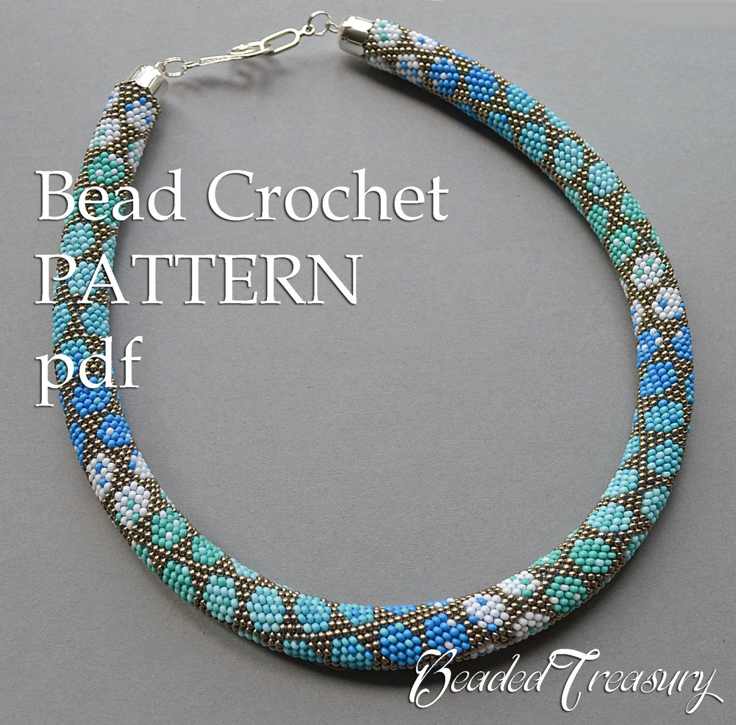Fresh Pattern for Bead Crochet Necklace City Style Crochet Bead Necklaces Of Unique 44 Photos Crochet Bead Necklaces