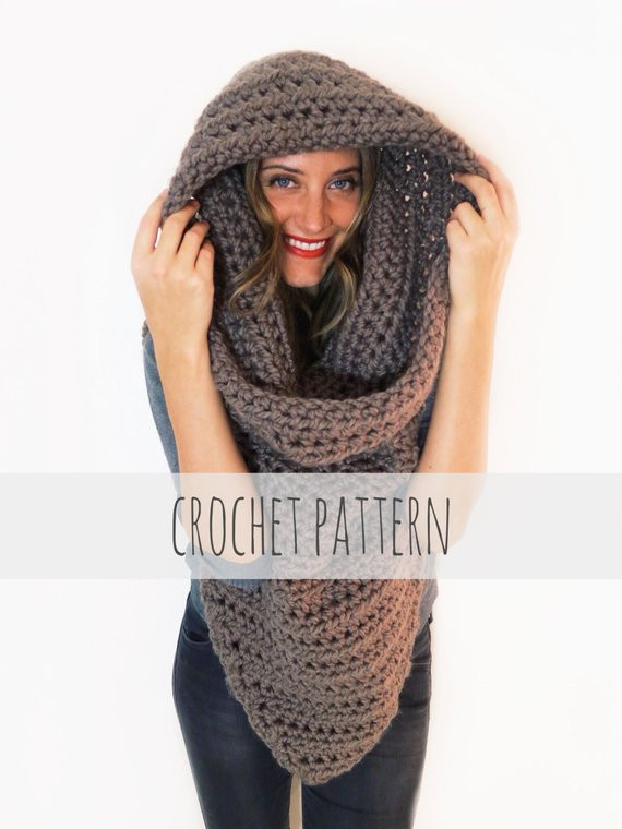 Fresh Pattern for Chunky soft Crochet Poncho Scarf Cowl Hood All Crochet Poncho with Hood Of Fresh 40 Pictures Crochet Poncho with Hood