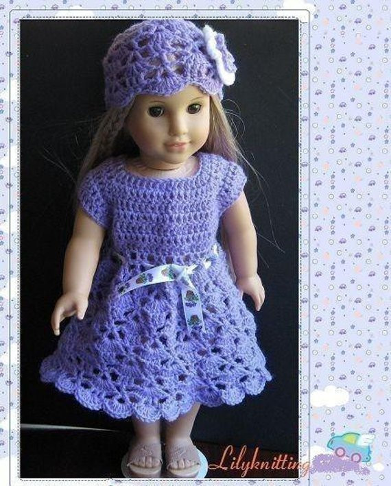 Fresh Pattern In Pdf Crocheted Doll Dress for American Girl Gotz Free Crochet Patterns for American Girl Dolls Clothes Of Adorable 50 Pictures Free Crochet Patterns for American Girl Dolls Clothes