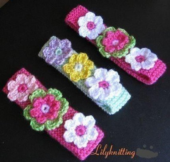 Fresh Pattern In Pdf Crocheted Knitted Flower Headband In All Babies Crochet Headbands Of Awesome 49 Photos Babies Crochet Headbands