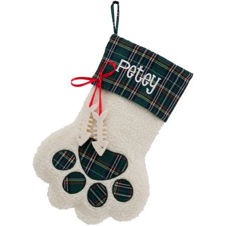Fresh Personalized Dog Paw and Cat Paw Christmas Stockings Dog Paw Stocking Of Charming 44 Ideas Dog Paw Stocking