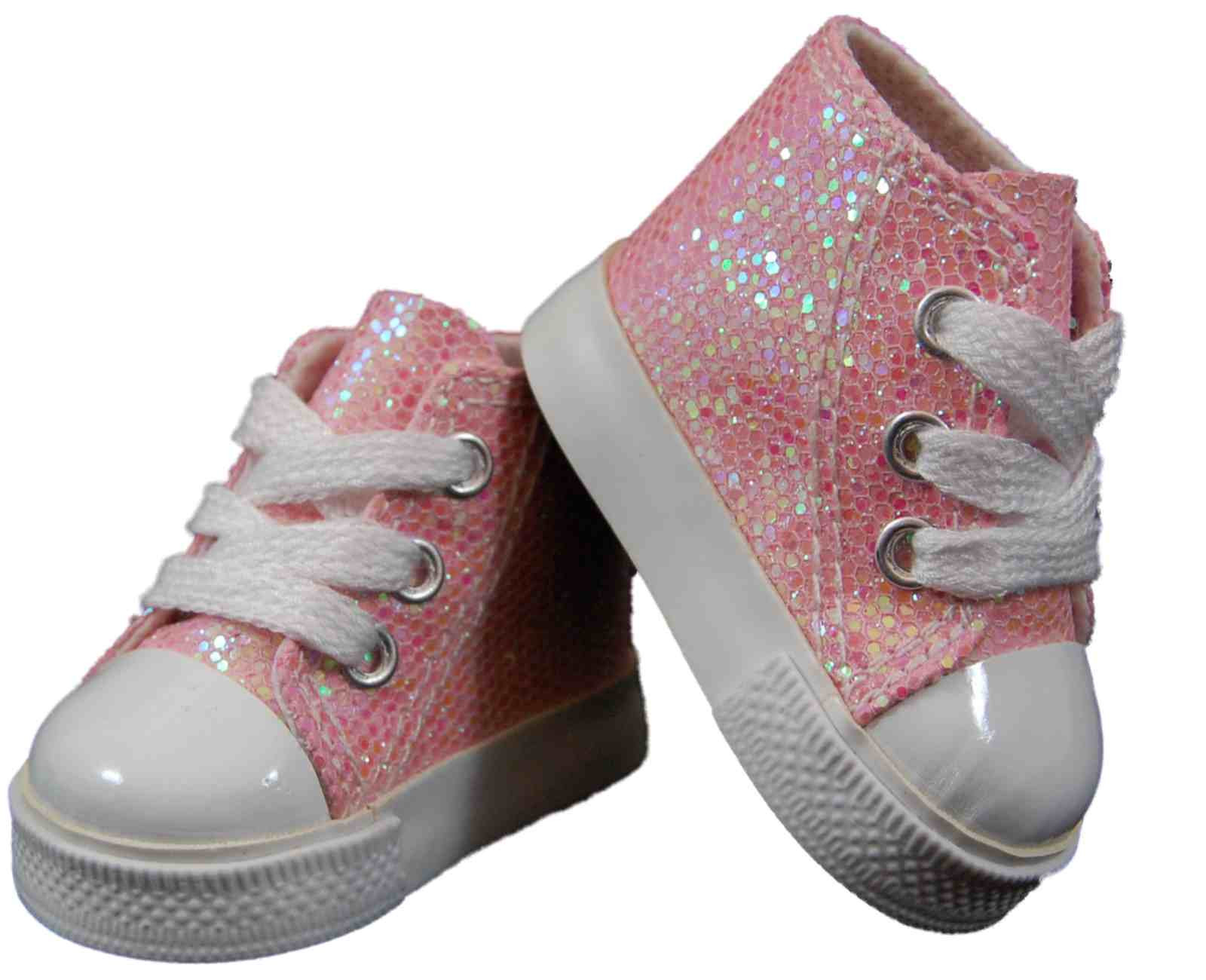 "Fresh Pink High top Sneakers Shoes for 18"" Girl Doll Clothes Ag Doll Shoes Of Superb 49 Photos Ag Doll Shoes"