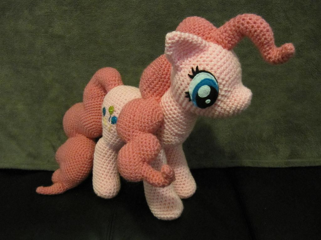 Fresh Pinkie Pie From My Little Pony by Nerdyknitterdesigns My Little Pony Crochet Pattern Of Brilliant 49 Ideas My Little Pony Crochet Pattern