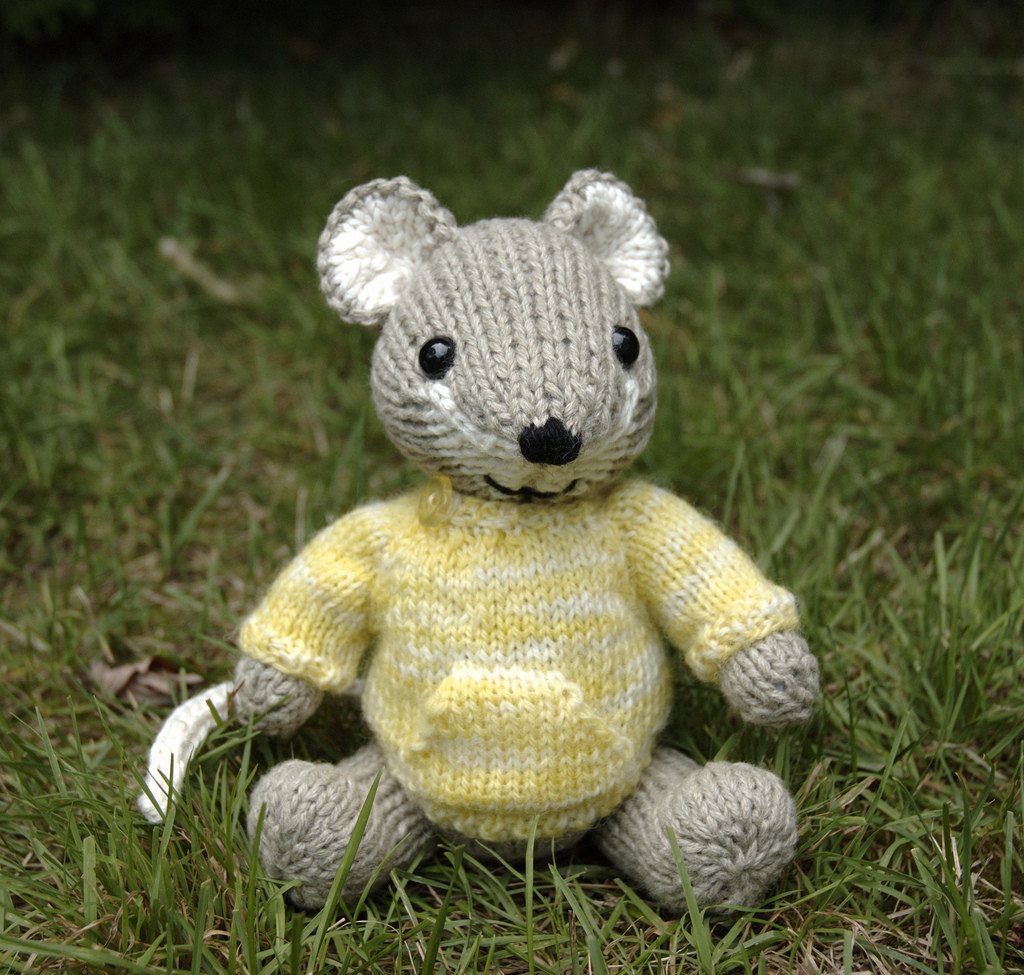 Fresh Pocket Mouse Amigurumi ⋆ Knitting Bee Free Knitting Patterns toys Of Delightful 41 Pictures Free Knitting Patterns toys