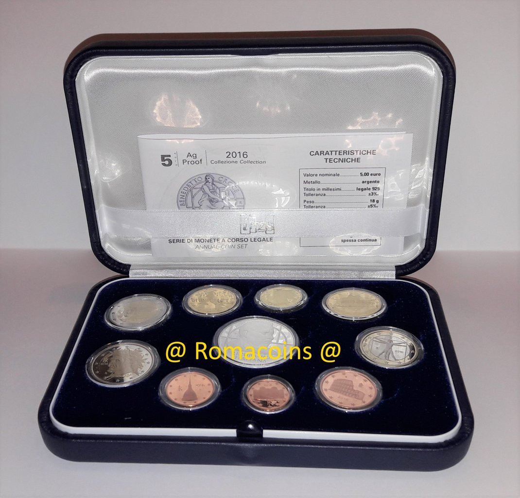 Fresh Proof Set Italy 2016 10 Coins 5 Euro Silver Croce Romacoins Proof Sets Of Great 40 Photos Proof Sets