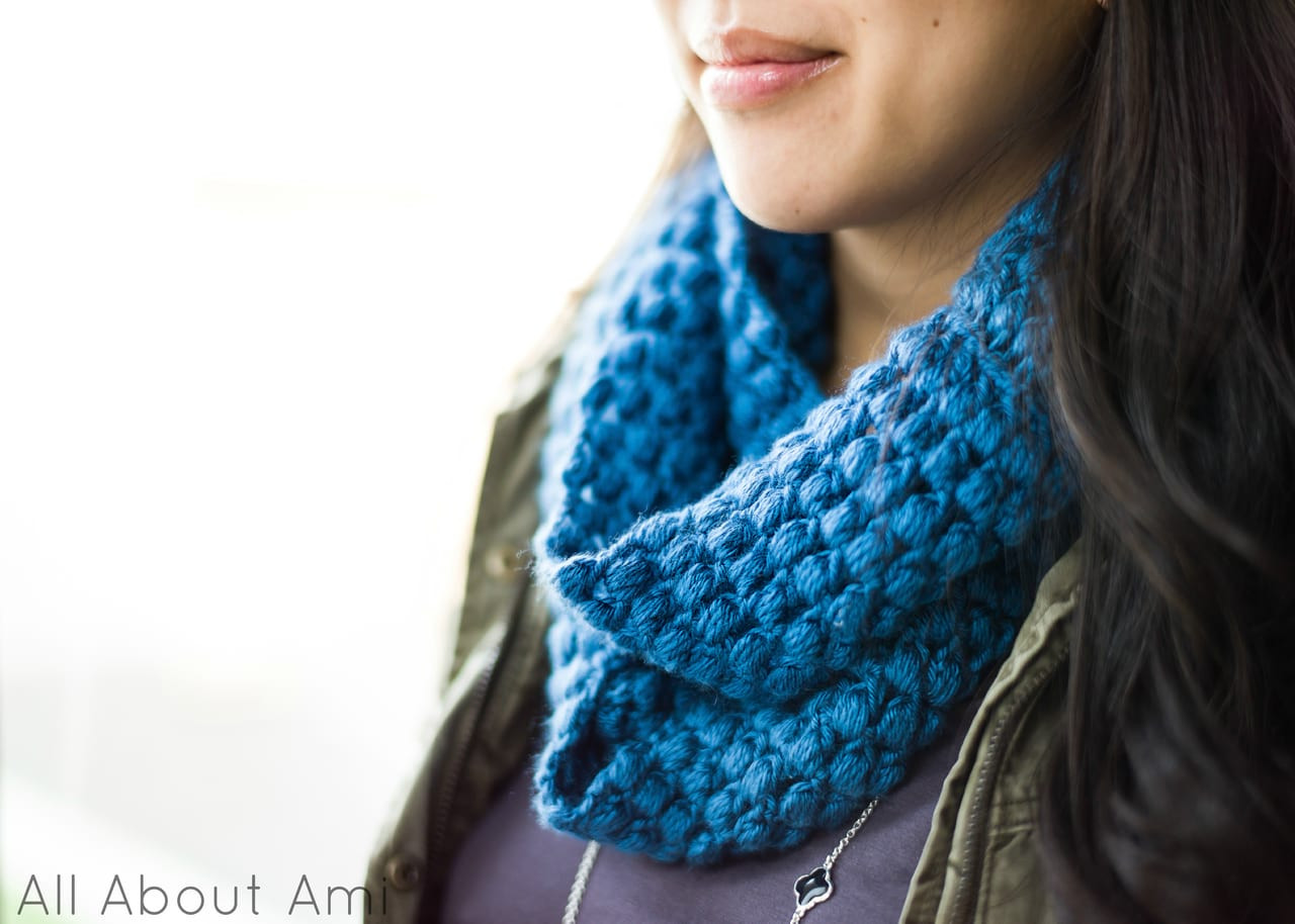 Fresh Puff Stitch Cowl All About Ami Cowl Scarf Of Innovative 48 Photos Cowl Scarf