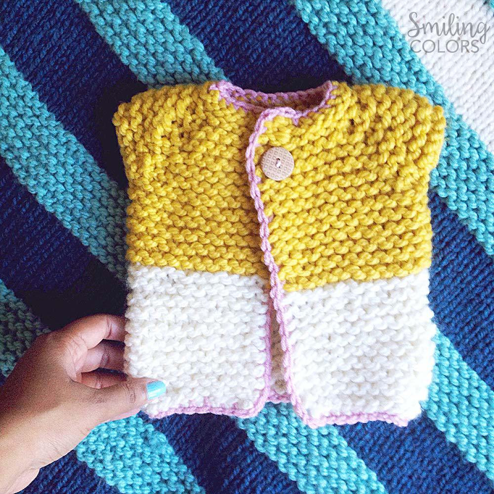Fresh Quick and Easy Baby Sweater that I Knit In One Night Easy Knit Baby Sweater Of Fresh 41 Ideas Easy Knit Baby Sweater
