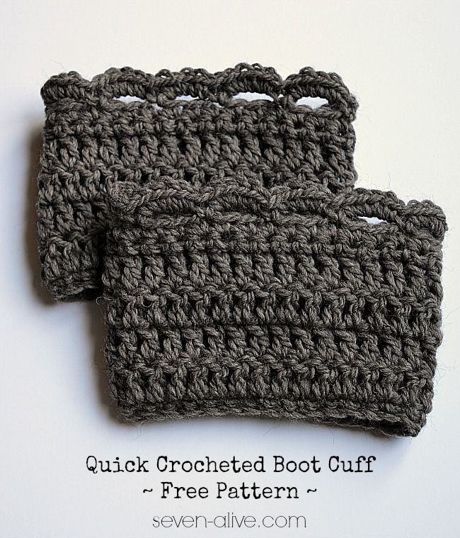 Fresh Quick Crocheted Boot Cuff Free Pattern Recipe Free Boot Cuff Patterns Of Top 49 Pictures Free Boot Cuff Patterns