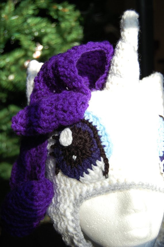 Fresh Rarity My Little Pony Crochet Beanie Hat by Twists Envy My Little Pony Crochet Pattern Of Brilliant 49 Ideas My Little Pony Crochet Pattern