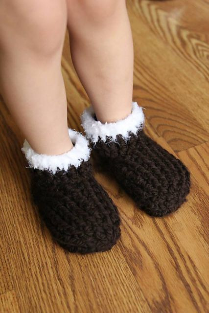 Fresh Ravelry Free Kids Chunky Slippers Pattern by Crochet by Crochet toddler Slippers Of Delightful 50 Images Crochet toddler Slippers