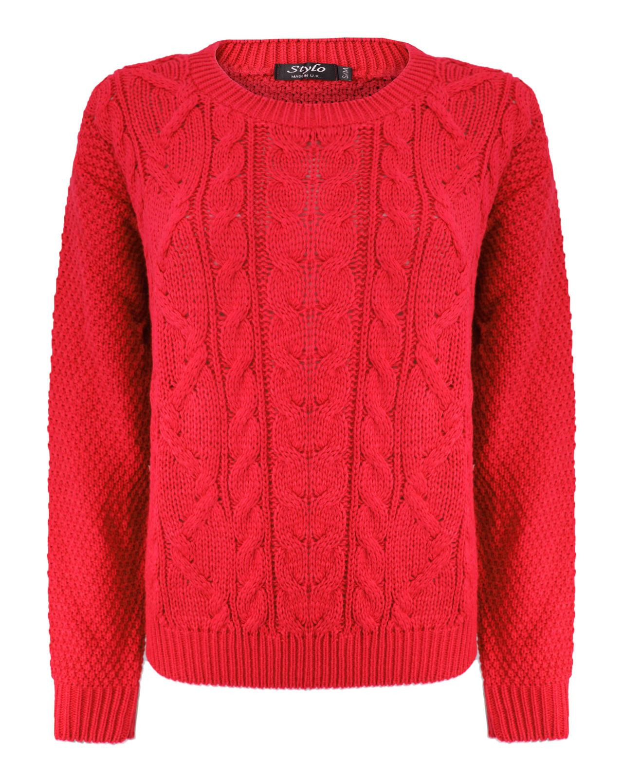 Fresh Red Cable Knit Jumper Womens Ladies Cable Knit Sweater Of Charming 49 Photos Ladies Cable Knit Sweater