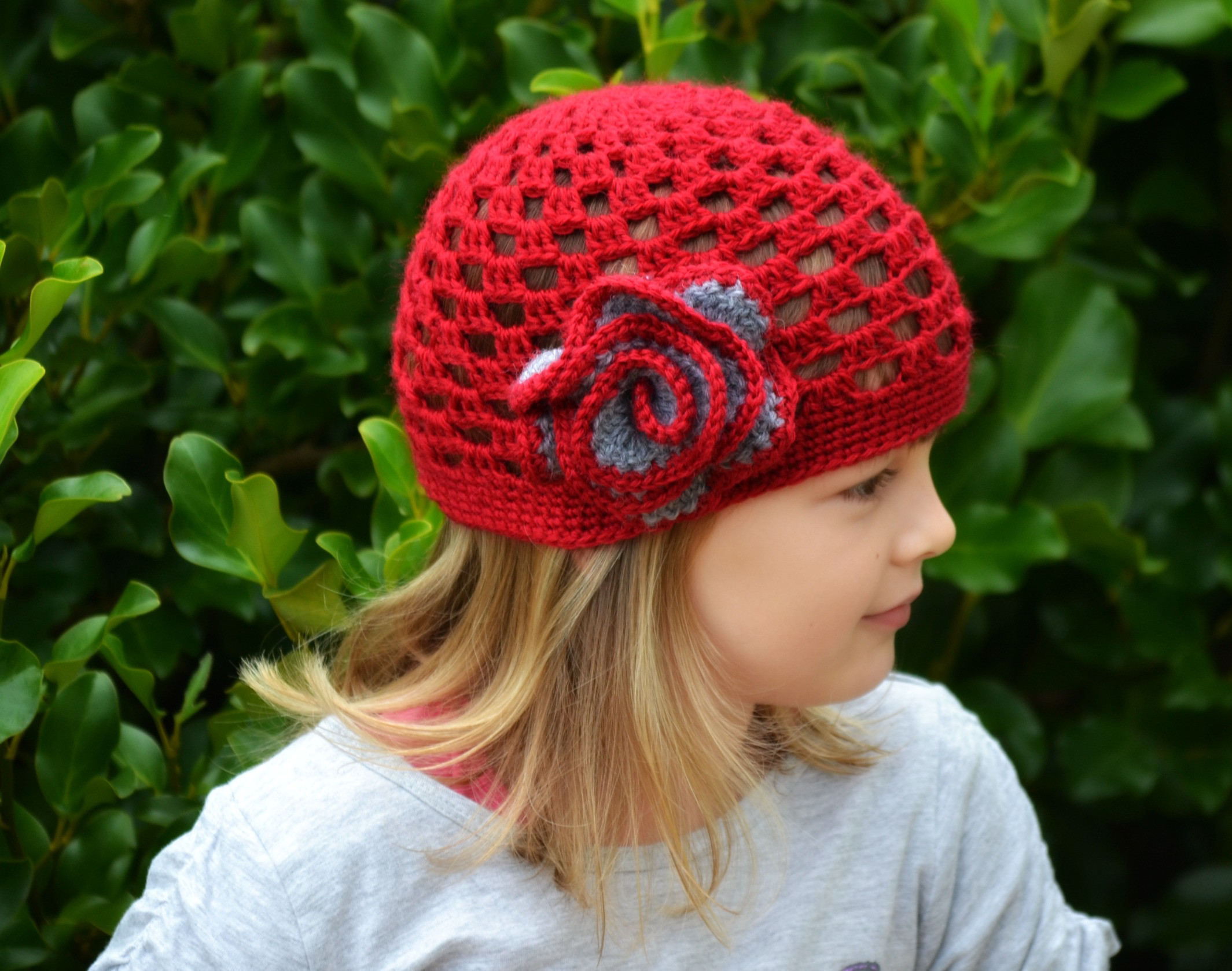 Fresh Red Hat – the Green Dragonfly Crochet Stitches for Hats Of Lovely 46 Models Crochet Stitches for Hats