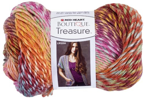 Red Heart Boutique Treasure Yarn Abstract Arts