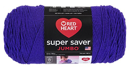 Fresh Red Heart E302b 0356 Super Saver Jumbo Yarn Amethyst Red Heart Jumbo Yarn Of Awesome 41 Pictures Red Heart Jumbo Yarn