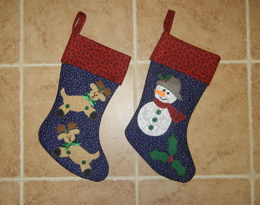 Fresh Reindeer & Snowman Christmas Stockings by Sher S Patterns Xmas Stocking Patterns Of Marvelous 47 Images Xmas Stocking Patterns