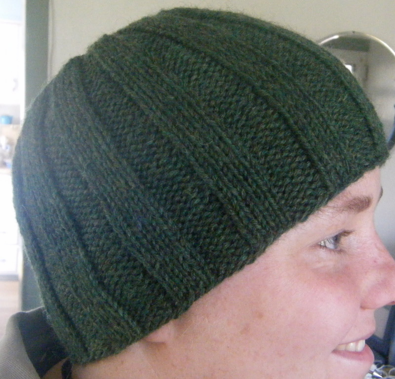 Ribbed Knit Hat Pattern