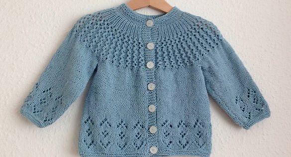 Fresh Rosabel Knitted Baby Cardigan [free Knitting Pattern] Baby Sweater Knitting Pattern Of Beautiful 48 Pictures Baby Sweater Knitting Pattern