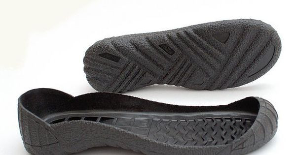 Rubber soles for your own projects rubber toe and back