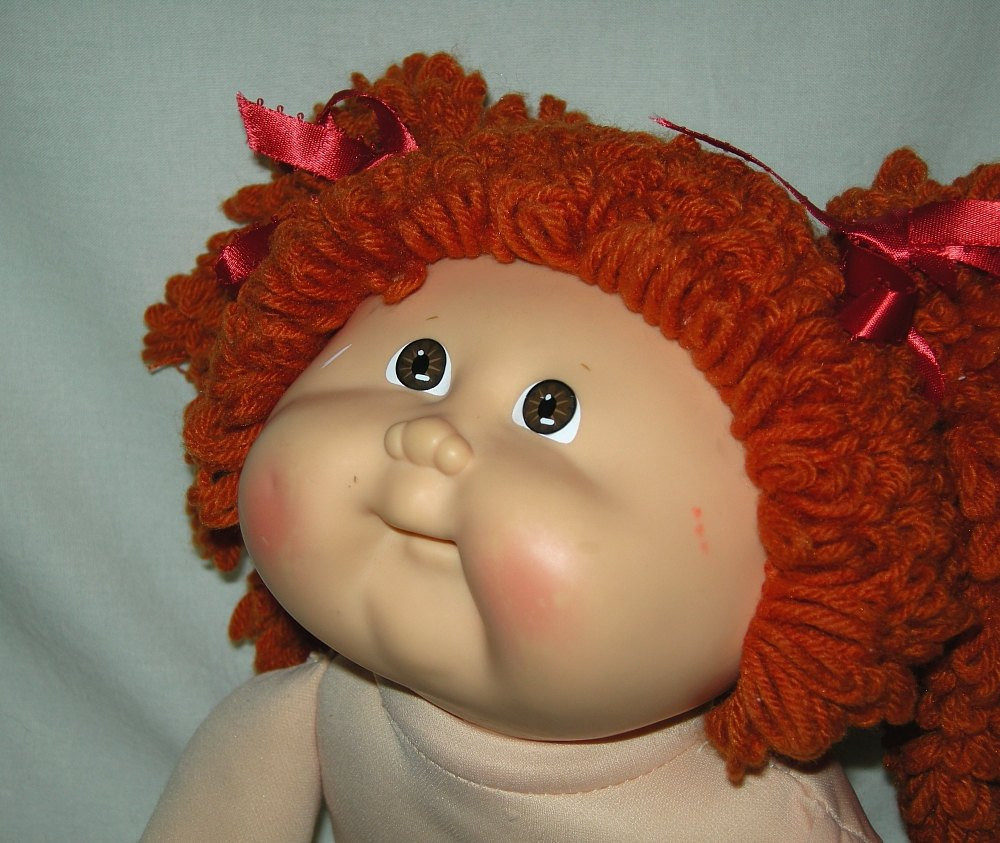 Fresh Sale Cabbage Patch Girl Red Popcorn Hair Vintage 1989 An Cabbage Patch Kids for Sale Of Marvelous 47 Pics Cabbage Patch Kids for Sale